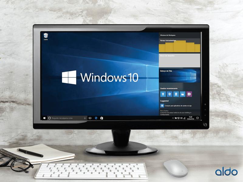 Ultratops contam com Windows Ink, um novo recurso do Windows 10