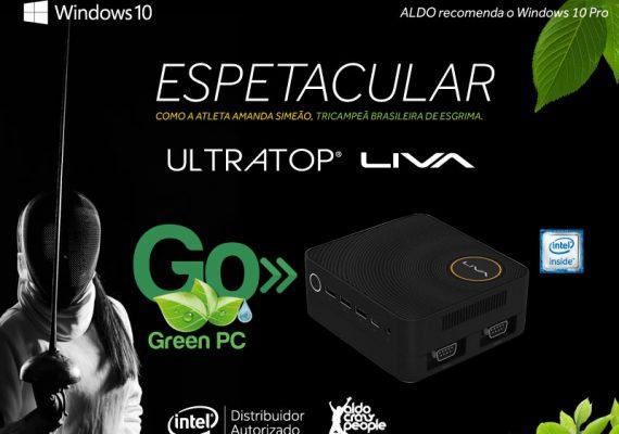 GO Green PC: o destino correto para o lixo eletrônico proposto por Aldo e Intel