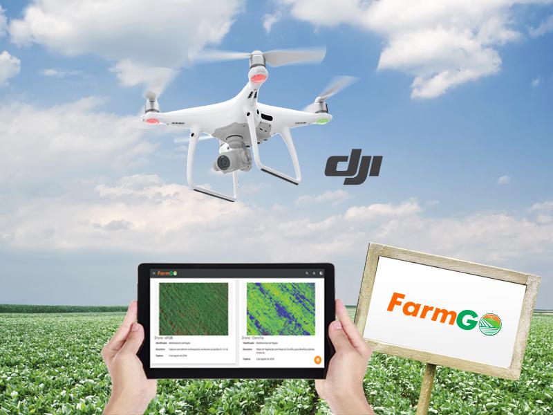 Drones ajudam a aumentar a produtividade a partir do monitoramento das lavouras