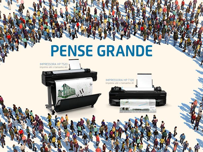 Plotters HP: pense grande e venda mais!