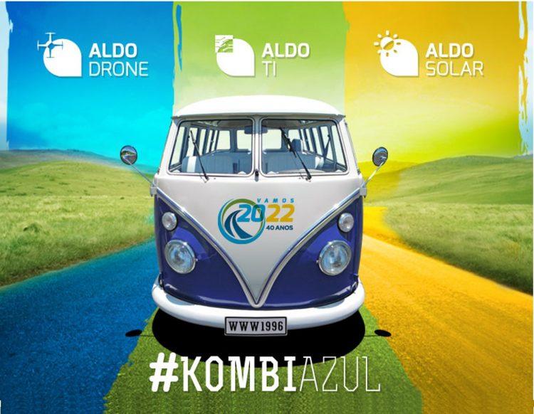#KombiAzul da ALDO oferece 10 dias de promoção em equipamentos de Energia Solar, TI e Drones