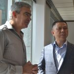 Aldo Teixeira e Jifan Gao, presidente da ALDO Solar e da Trina Solar respectivamente