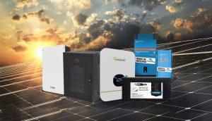 gerador solar off-grid