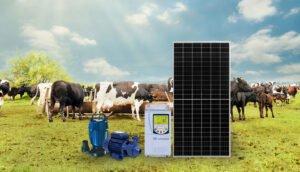 gerador de energia solar para Motobomba