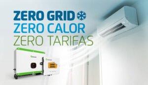 Gerador ZERO GRID e ar-condicionado