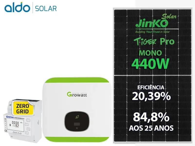 Gerador de Energia Aldo Solar Zero Grid