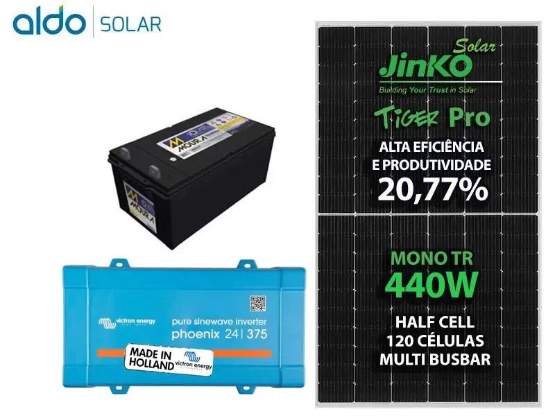Gerador Aldo Solar Off Grid