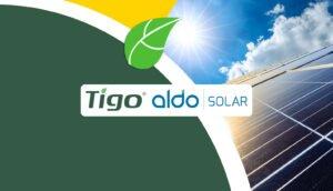 Parceria tigo e aldo solar