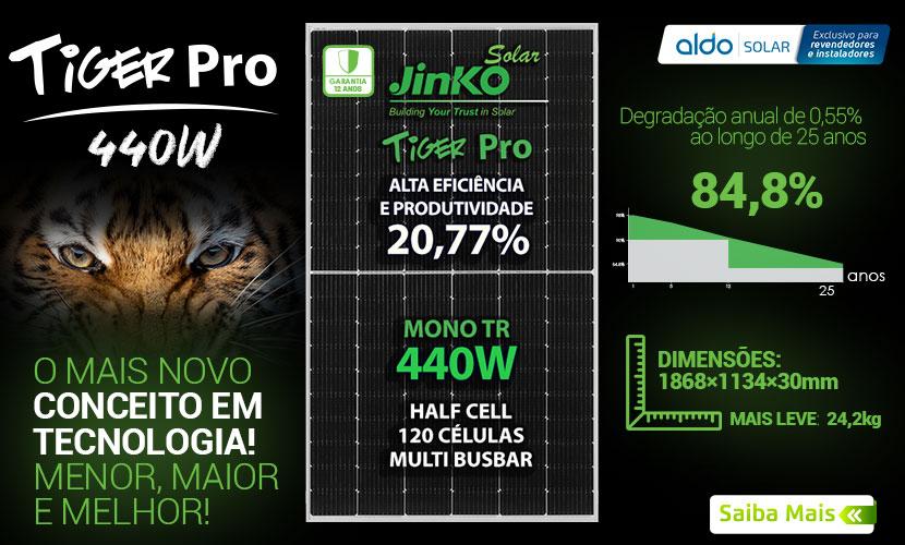 Tiger Pro Jinko compre na Aldo