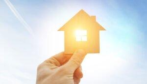 casa movida a energia solar