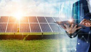 energia limpa no campo