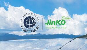 Jinko Solar adere ao Pacto Global