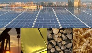 painéis solares são commodities