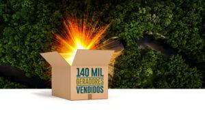 Aldo comercializa 140 mil geradores
