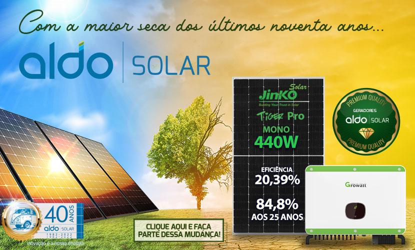 Energia Solar é a solução para seca no Brasil