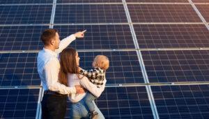 Dia das mães um gerador solar