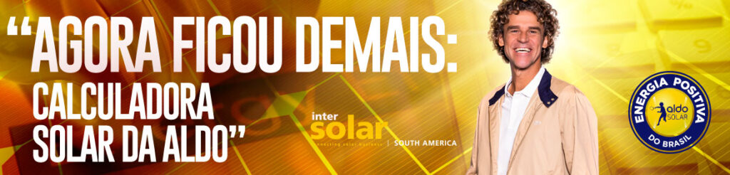 Calculadora Aldo Solar - vale a pena instalar energia solar
