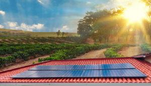 energia solar na Zona rural