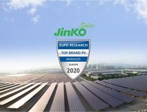 Jinko Solar recebe o Prêmio Internacional