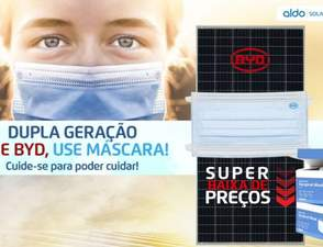Coronavírus: empresas doam 500 mil máscaras para o setor de energia solar